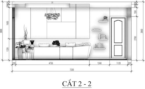 Thiết kế phòng khách sang trọng hòa hợp cùng thiên nhiên