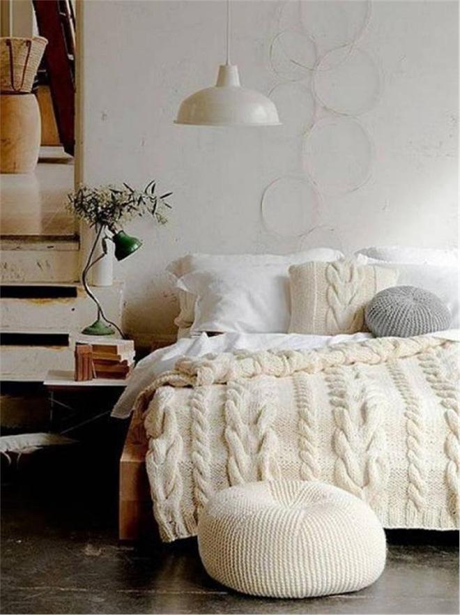 Thiết kế phòng ngủ ấm áp, cá tính đón mùa đông về