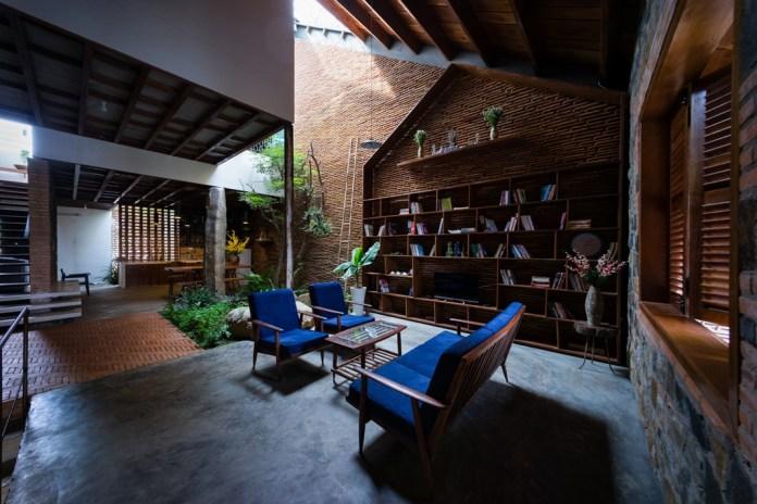 Ấn tượng căn nhà cấp 4 mái ngói siêu đẹp ở Lâm Đồng