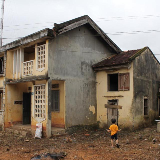 Căn nhà cải tạo lại từ nhà cũ tự tay bố xây dựng
