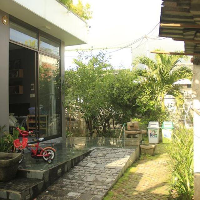 Căn nhà hoài niệm nằm lọt thỏm trong khu làng chài Đà Nẵng