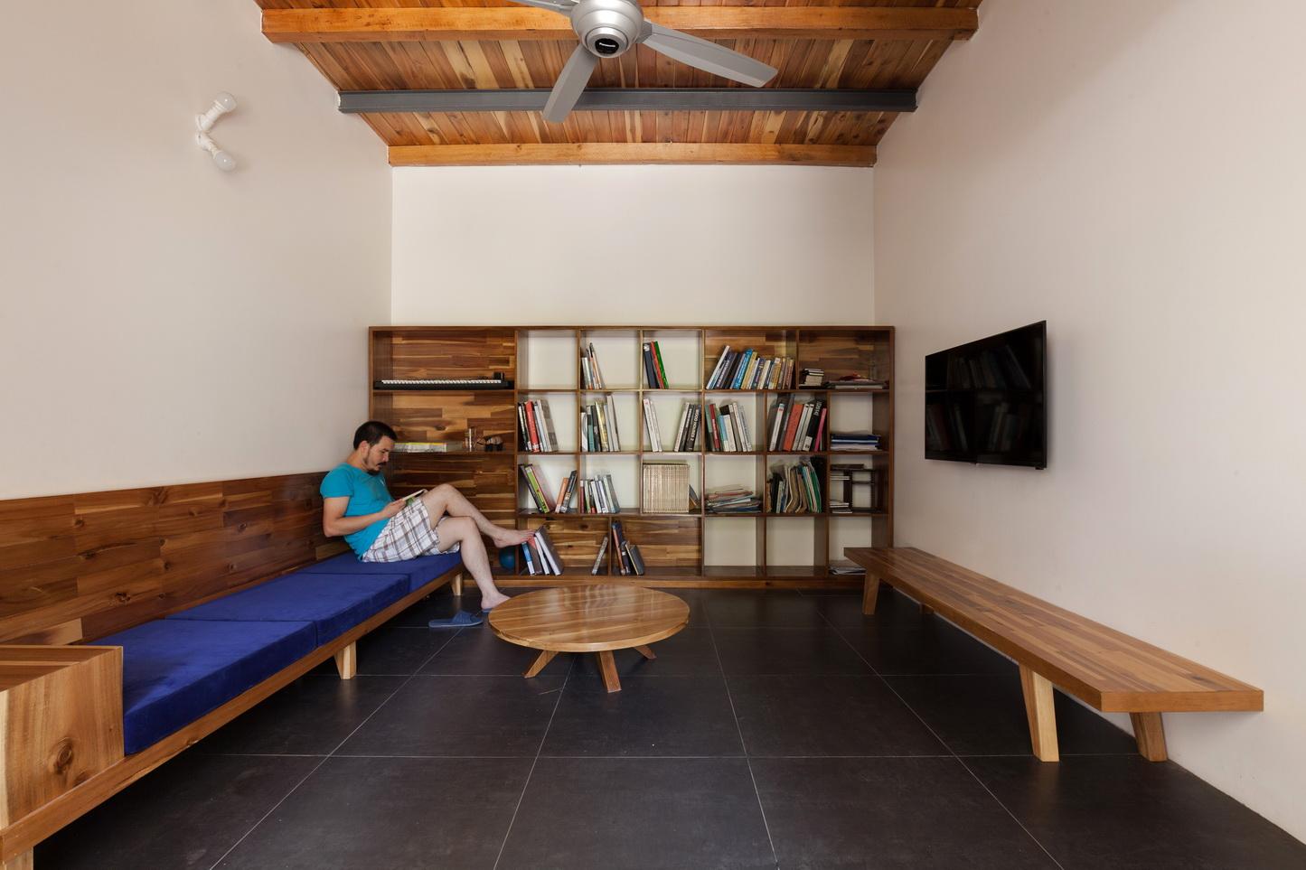Độc đáo căn nhà cấp 4 mang hơi thở hiện đại trong không gian thôn quê cũ