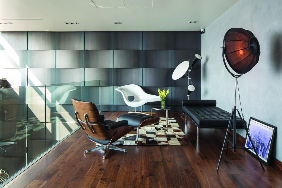 Khám phá căn hộ hai tầng thiết kế như biệt thự sang trọng