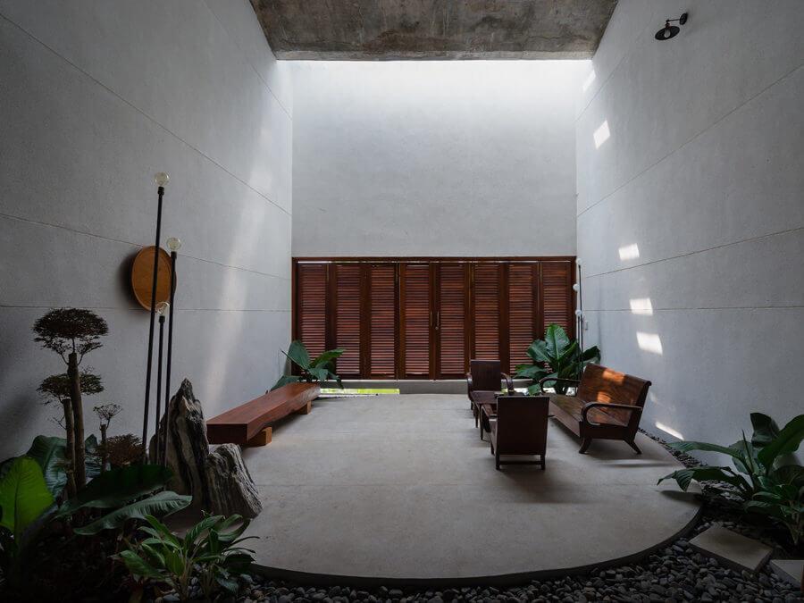 Khi hiện đại gặp cổ điển trong thiết kế của căn nhà 3 thế hệ