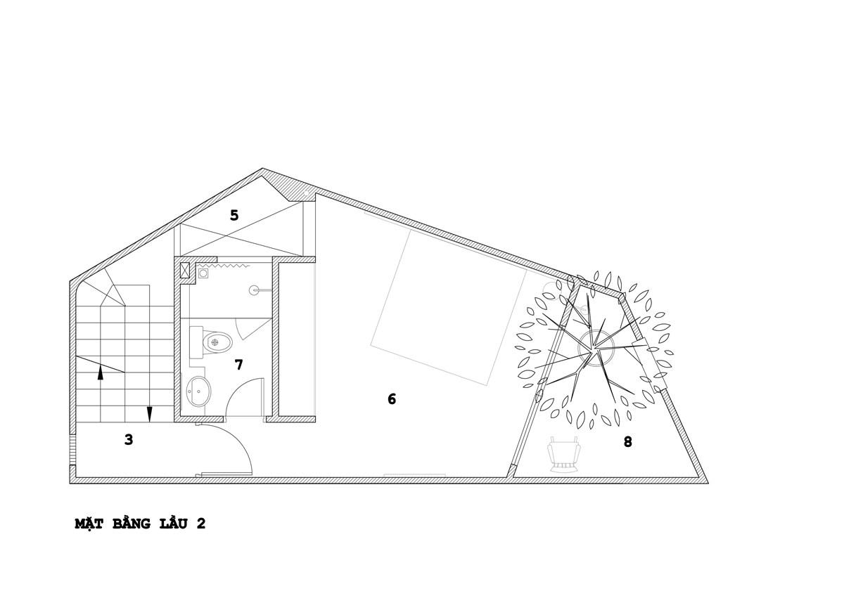 Ngỡ ngàng căn nhà phố nhỏ trong ngõ hẹp được thiết kế cực kì khéo léo