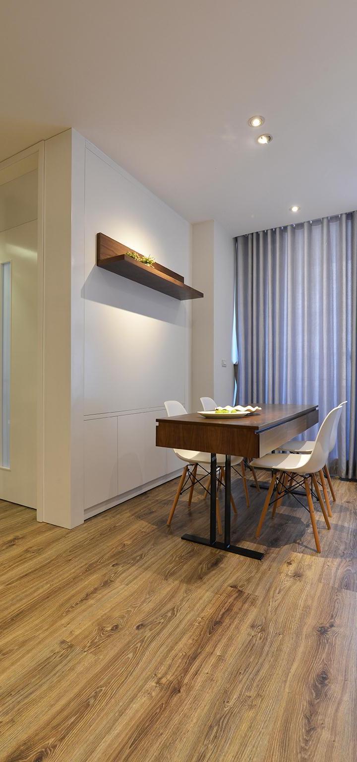 Nội thất cho căn hộ nhỏ 68 mét vuông cho nhà 3 thế hệ