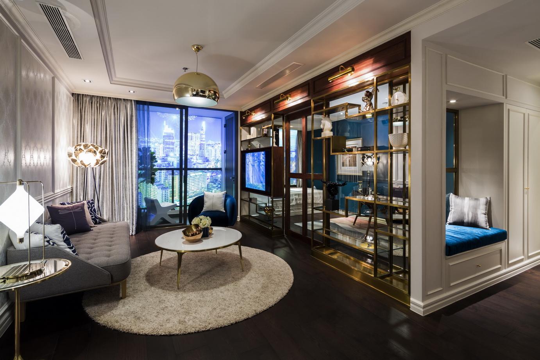 Nội thất phong cách modern classic cho căn hộ hạng sang