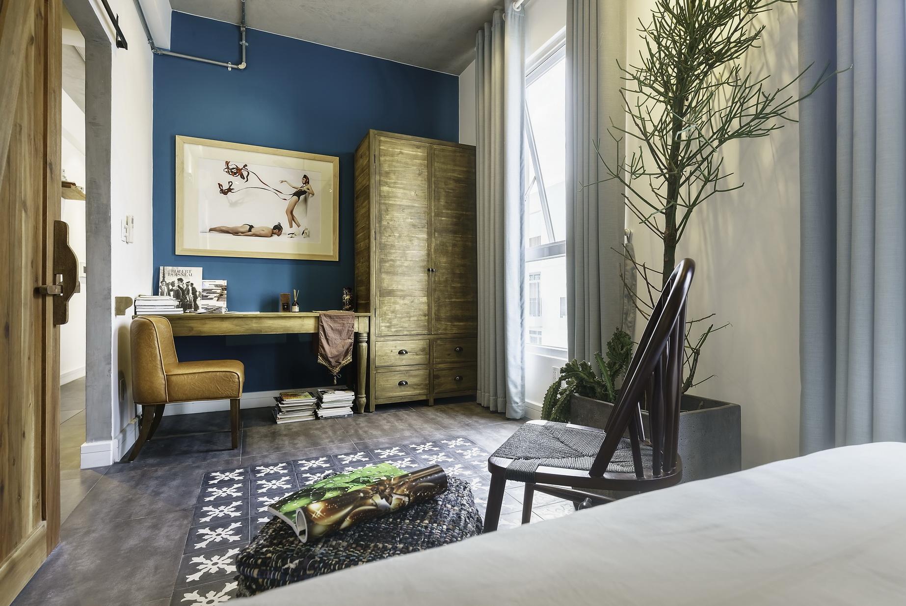 Phá cách nội thất cho căn hộ 82 mét vuông