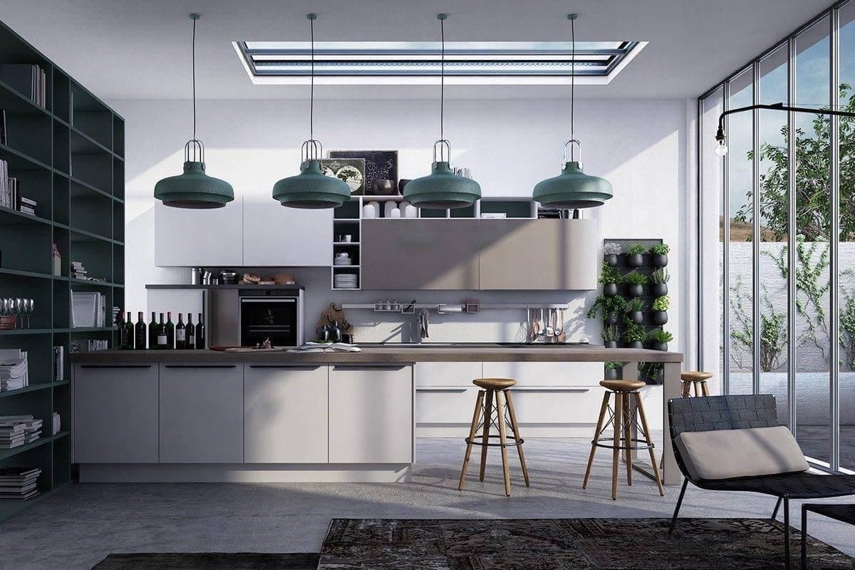 Tham khảo các mẫu phòng bếp đẹp phong cách hiện đại