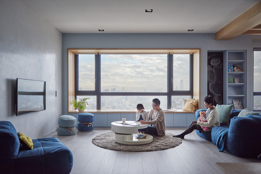Tham khảo mẫu căn hộ đa năng thiết kế phù hợp cho nhà có trẻ con
