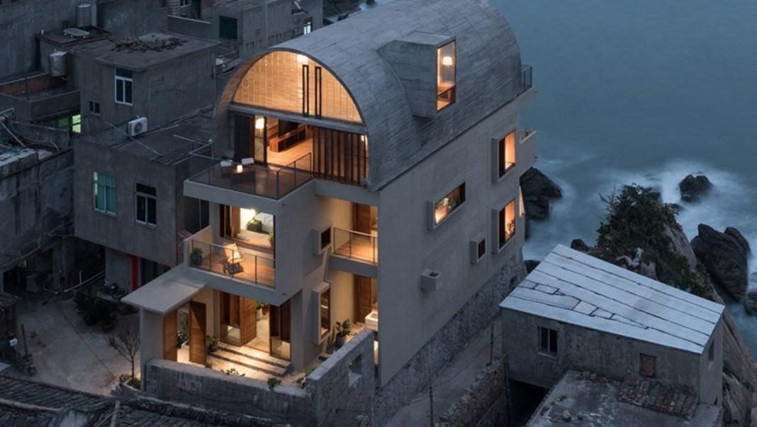 Vectors Architects: cải tạo nhà ven biển với mái vòm