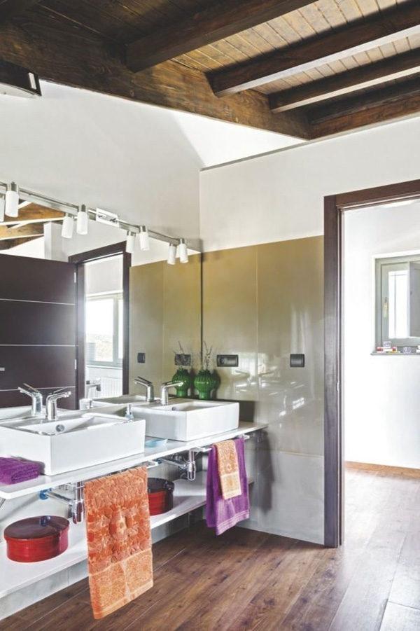 Căn hộ gác mái tuy chỉ 40m2 nhưng đầy cuốn hút với thiết kế hiện đại