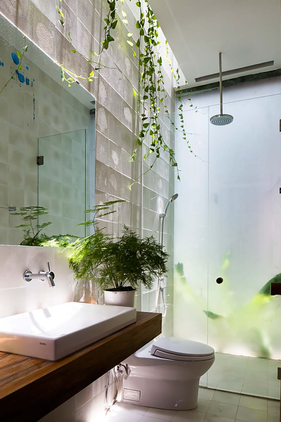 Công trình nhà phố xanh hòa quyện thiên nhiên tại Q7