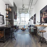 Khám phá căn hộ phong cách loft tại Canada