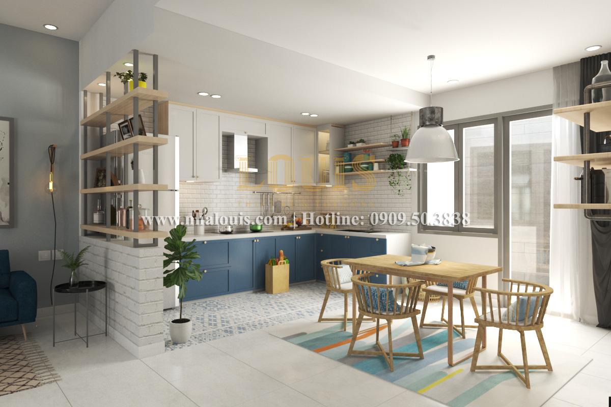 Bếp và phòng ăn Mẫu nhà hiện đại 2 tầng phong cách phương Tây tại Bình Dương - 04