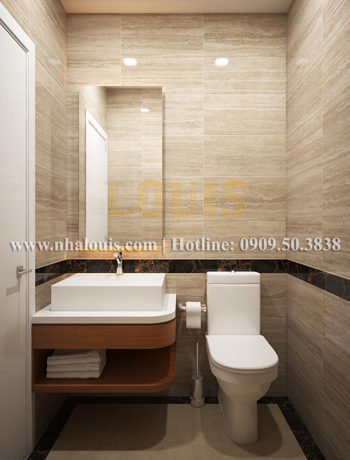 Phòng tắm Mẫu nhà hiện đại 2 tầng phong cách phương Tây tại Bình Dương - 06
