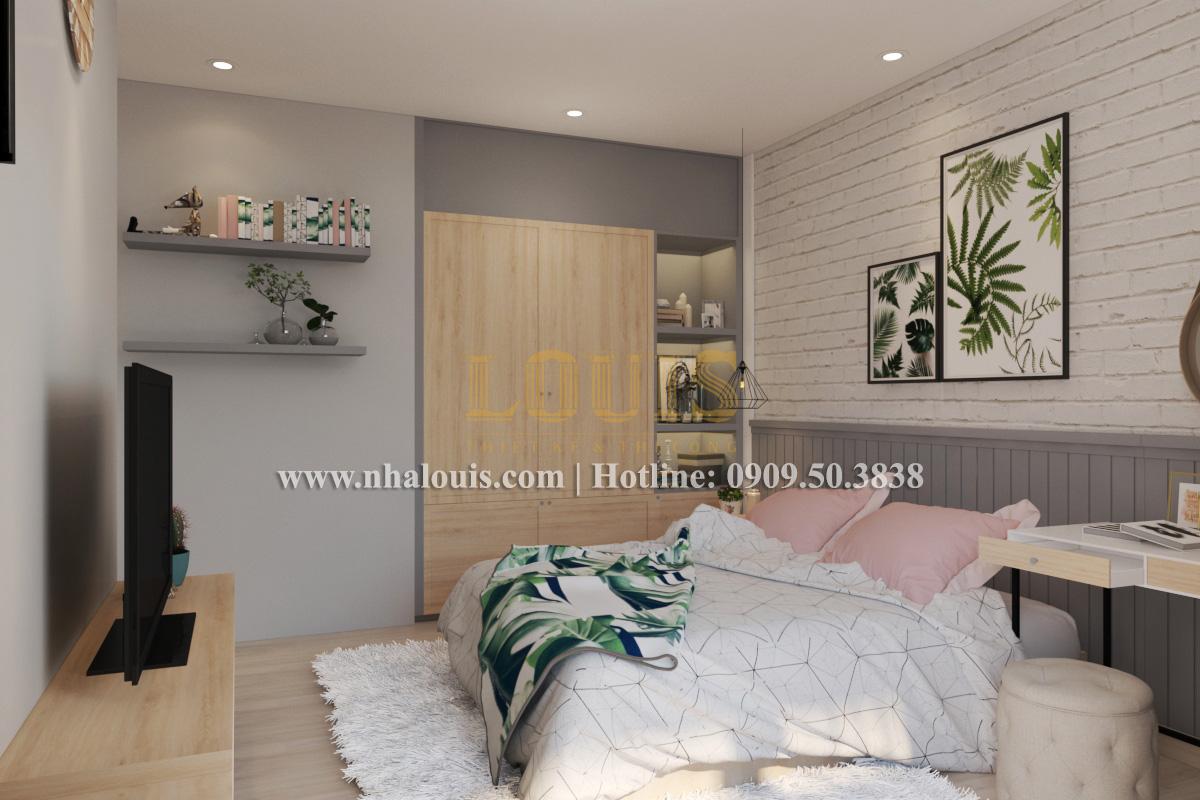 Phòng ngủ Mẫu nhà hiện đại 2 tầng phong cách phương Tây tại Bình Dương - 08