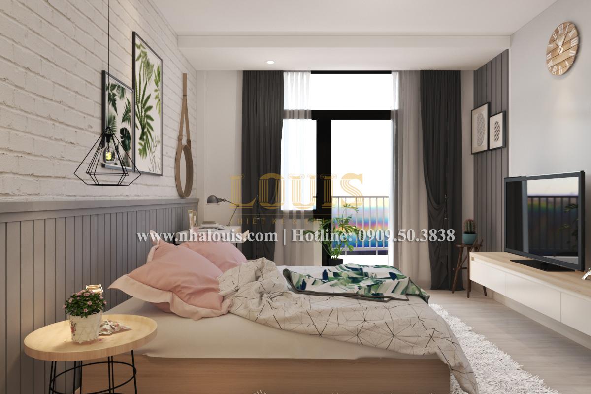 Phòng ngủ Mẫu nhà hiện đại 2 tầng phong cách phương Tây tại Bình Dương - 09