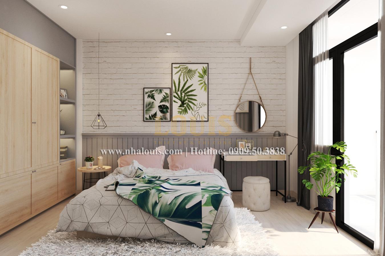 Phòng ngủ Mẫu nhà hiện đại 2 tầng phong cách phương Tây tại Bình Dương - 10