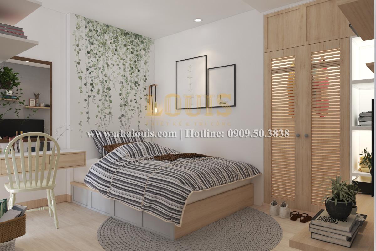 Phòng ngủ Mẫu nhà hiện đại 2 tầng phong cách phương Tây tại Bình Dương - 11