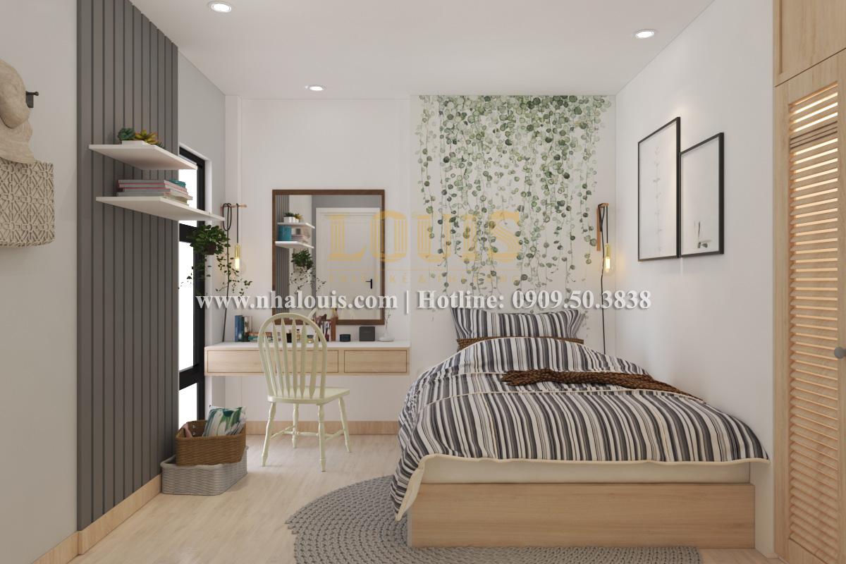 Phòng ngủ Mẫu nhà hiện đại 2 tầng phong cách phương Tây tại Bình Dương - 12
