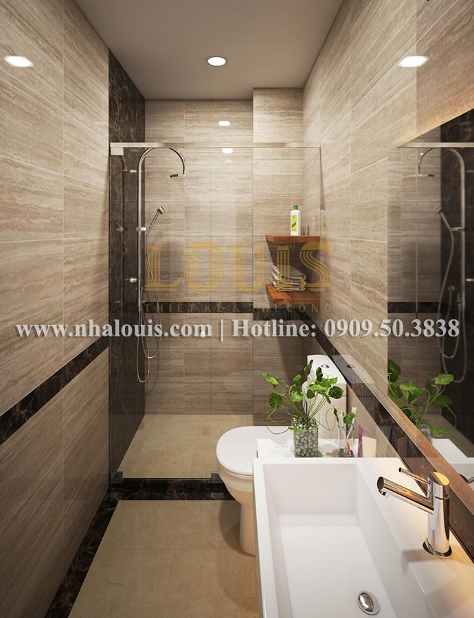 Phòng tắm Mẫu nhà hiện đại 2 tầng phong cách phương Tây tại Bình Dương - 14