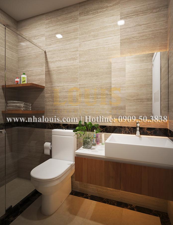 Phòng tắm Mẫu nhà hiện đại 2 tầng phong cách phương Tây tại Bình Dương - 15