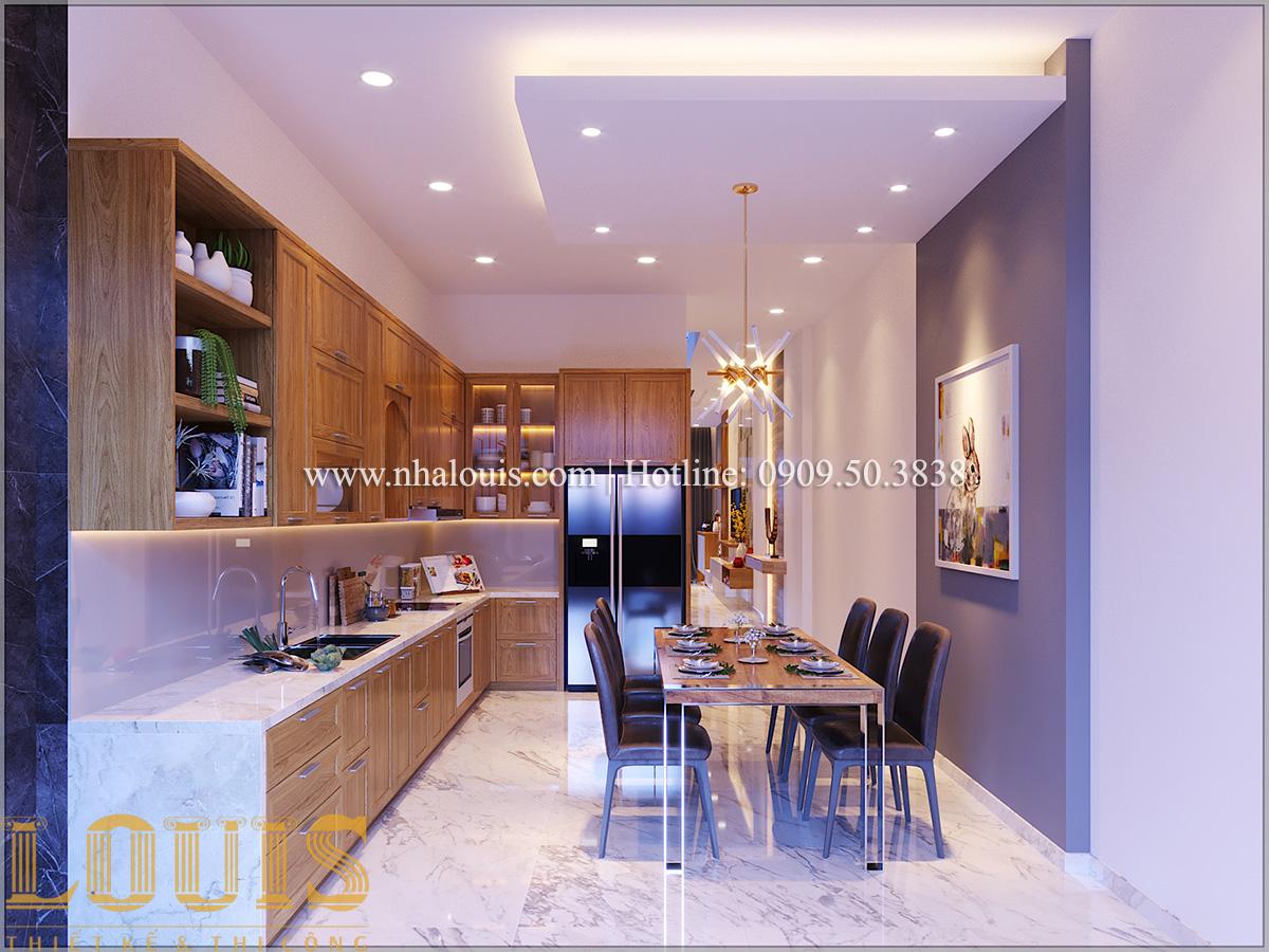 Bếp và phòng ăn Mẫu nhà ống đẹp 3 tầng hiện đại cực chất tại Bến Tre - 14