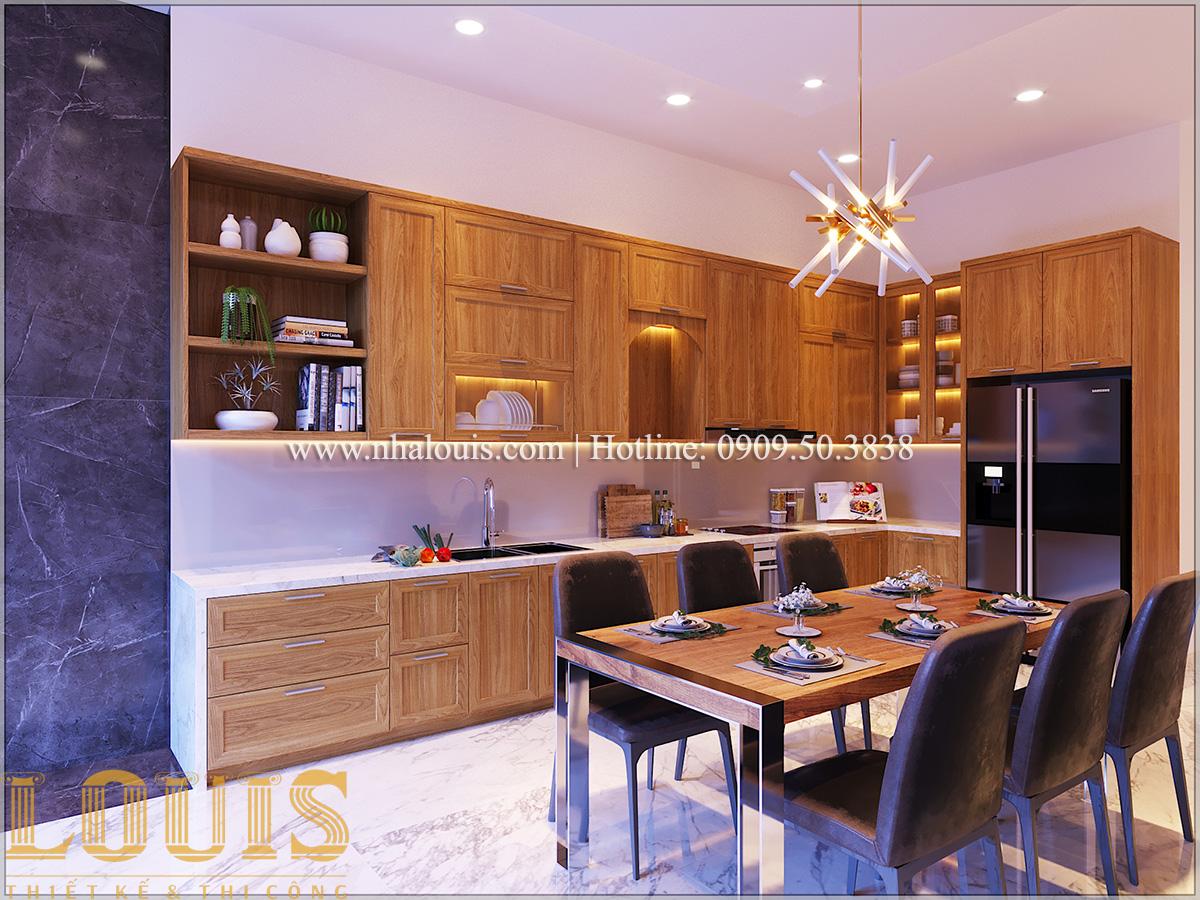 Bếp và phòng ăn Mẫu nhà ống đẹp 3 tầng hiện đại cực chất tại Bến Tre - 15