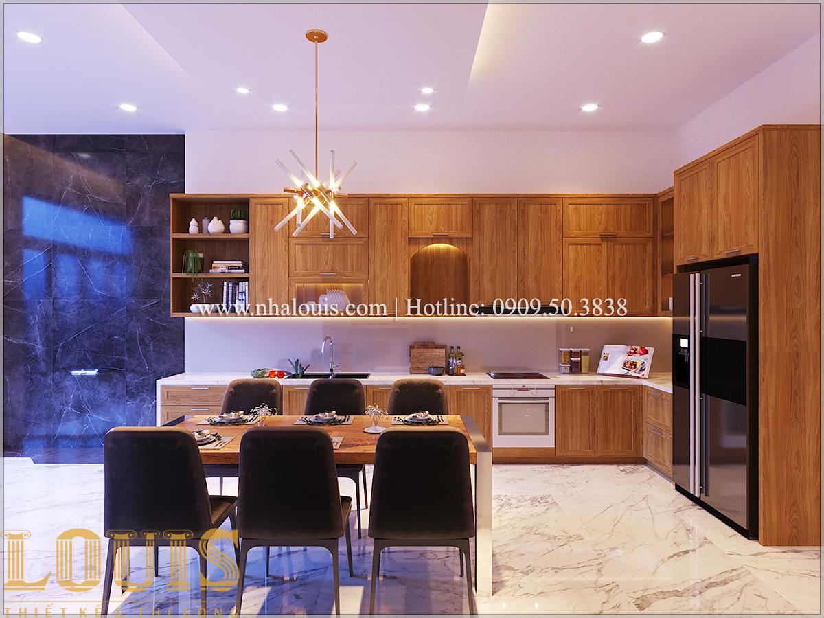 Bếp và phòng ăn Mẫu nhà ống đẹp 3 tầng hiện đại cực chất tại Bến Tre - 16