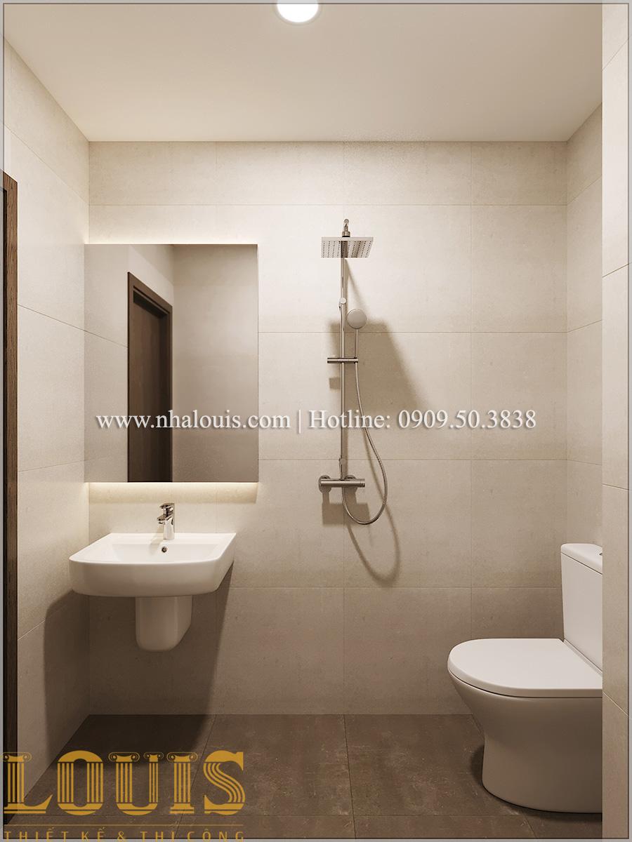 Phòng tắm và WC Mẫu nhà ống đẹp 3 tầng hiện đại cực chất tại Bến Tre - 19