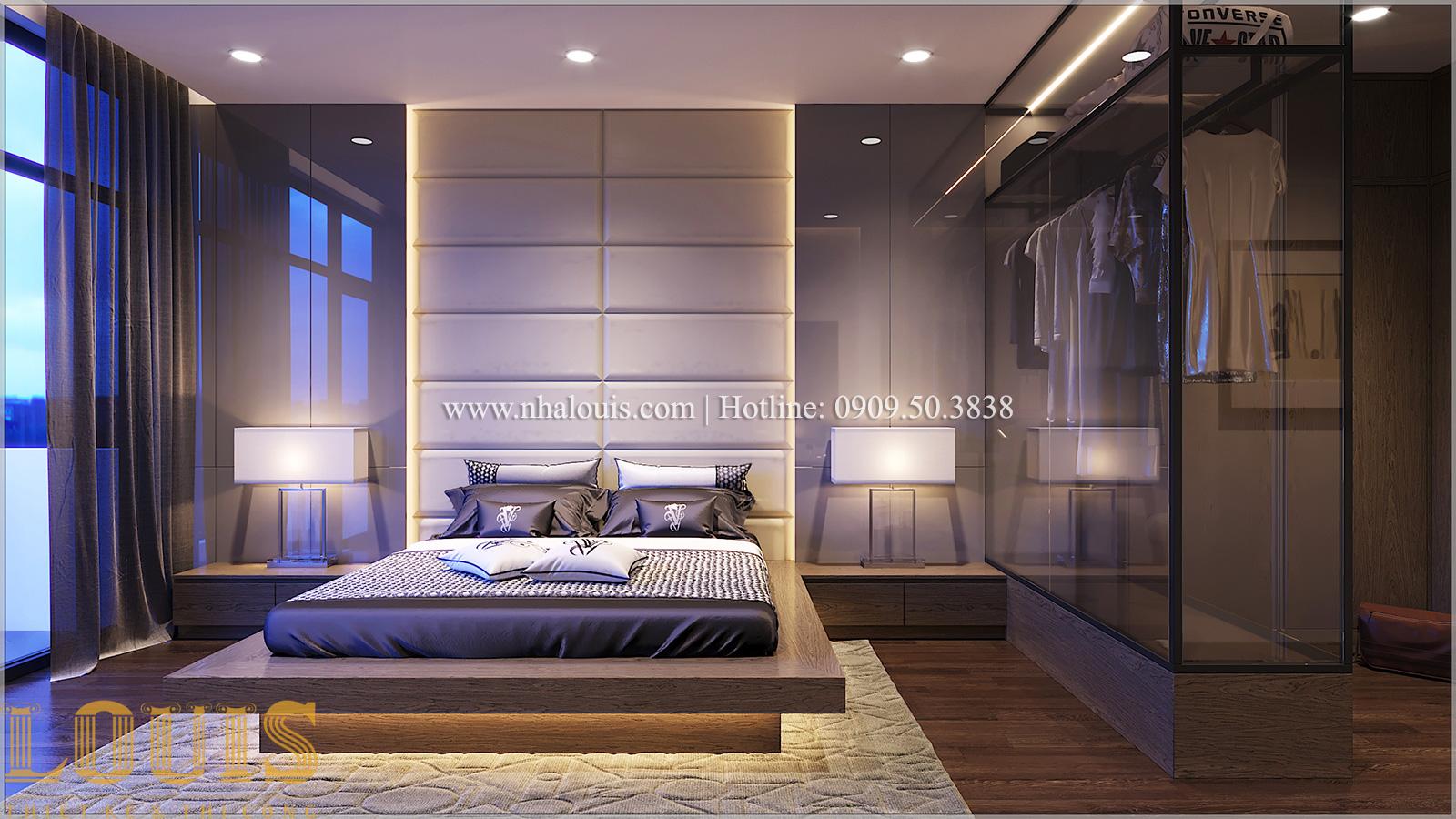 Phòng ngủ Mẫu nhà ống đẹp 3 tầng hiện đại cực chất tại Bến Tre - 21