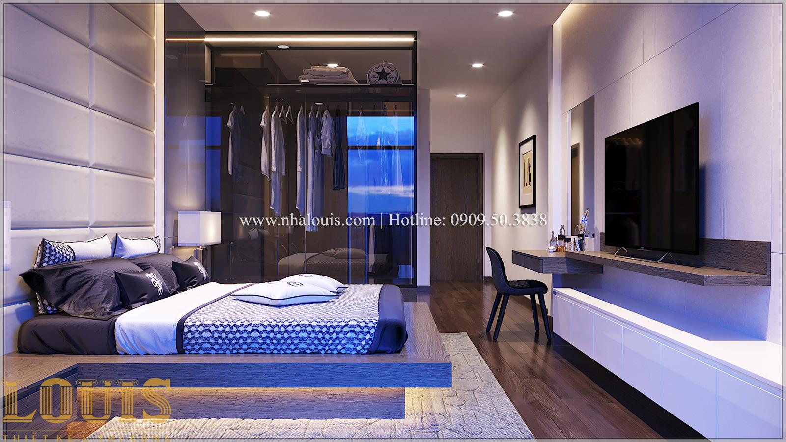 Phòng ngủ Mẫu nhà ống đẹp 3 tầng hiện đại cực chất tại Bến Tre - 23