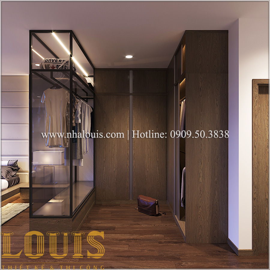 Phòng ngủ Mẫu nhà ống đẹp 3 tầng hiện đại cực chất tại Bến Tre - 24