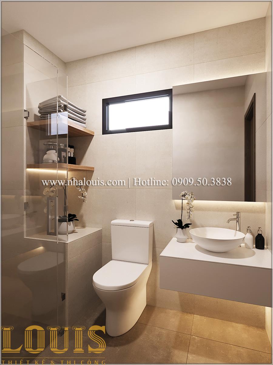Phòng tắm và WC Mẫu nhà ống đẹp 3 tầng hiện đại cực chất tại Bến Tre - 27