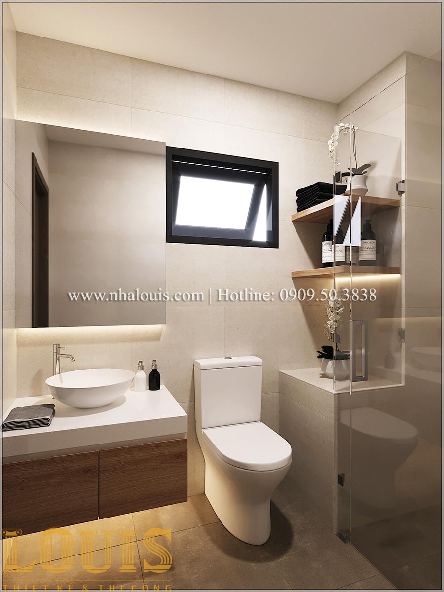 Phòng tắm và WC Mẫu nhà ống đẹp 3 tầng hiện đại cực chất tại Bến Tre - 33