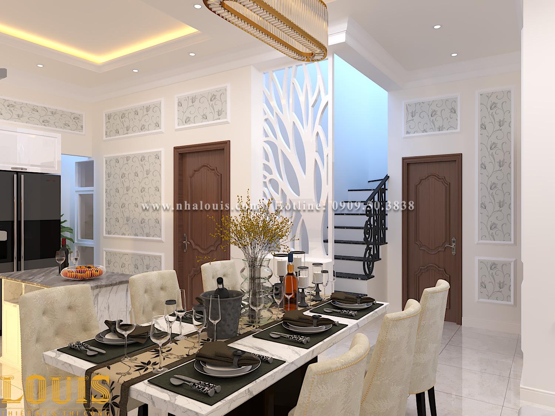 Bếp và phòng ăn Mẫu nhà ống tân cổ điển 4 tầng tại Gò Vấp đẹp sang chảnh - 14
