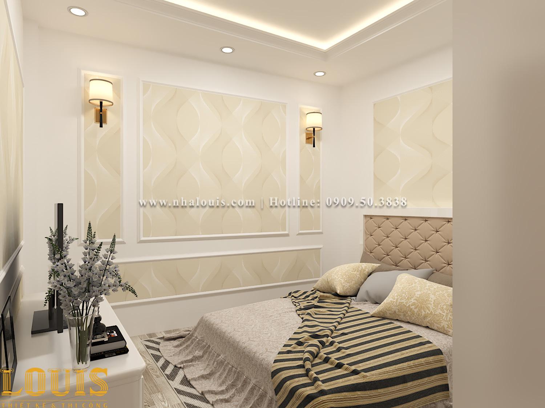 Phòng ngủ Mẫu nhà ống tân cổ điển 4 tầng tại Gò Vấp đẹp sang chảnh - 20