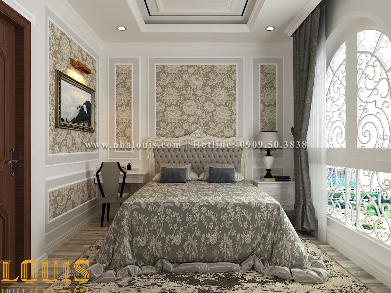 Phòng ngủ Mẫu nhà ống tân cổ điển 4 tầng tại Gò Vấp đẹp sang chảnh - 24