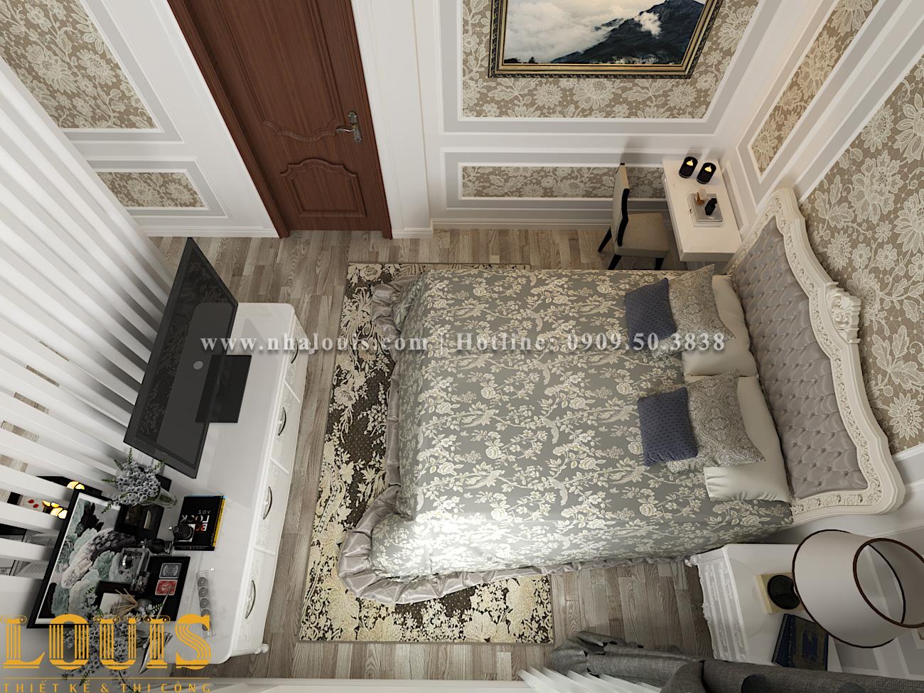 Phòng ngủ Mẫu nhà ống tân cổ điển 4 tầng tại Gò Vấp đẹp sang chảnh - 26