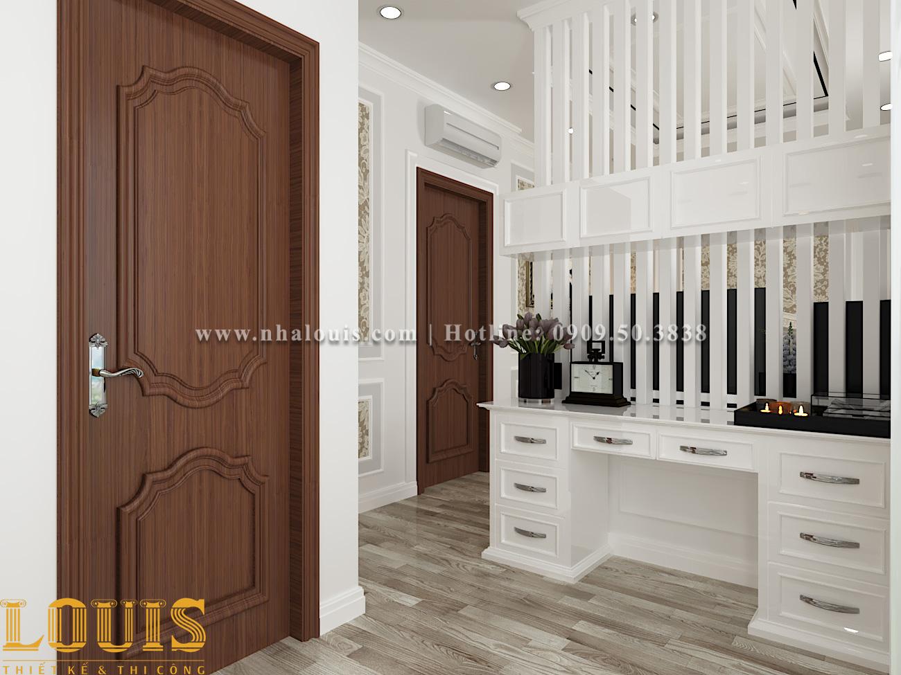 Phòng ngủ Mẫu nhà ống tân cổ điển 4 tầng tại Gò Vấp đẹp sang chảnh - 28