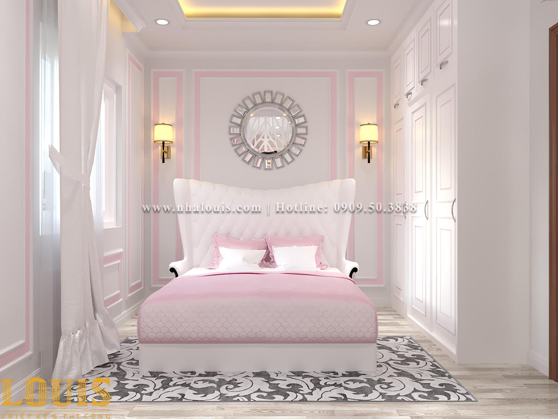 Phòng ngủ Mẫu nhà ống tân cổ điển 4 tầng tại Gò Vấp đẹp sang chảnh - 31