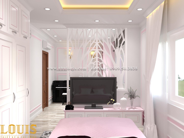 Phòng ngủ Mẫu nhà ống tân cổ điển 4 tầng tại Gò Vấp đẹp sang chảnh - 32