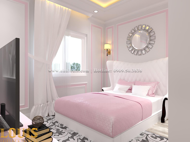 Phòng ngủ Mẫu nhà ống tân cổ điển 4 tầng tại Gò Vấp đẹp sang chảnh - 33