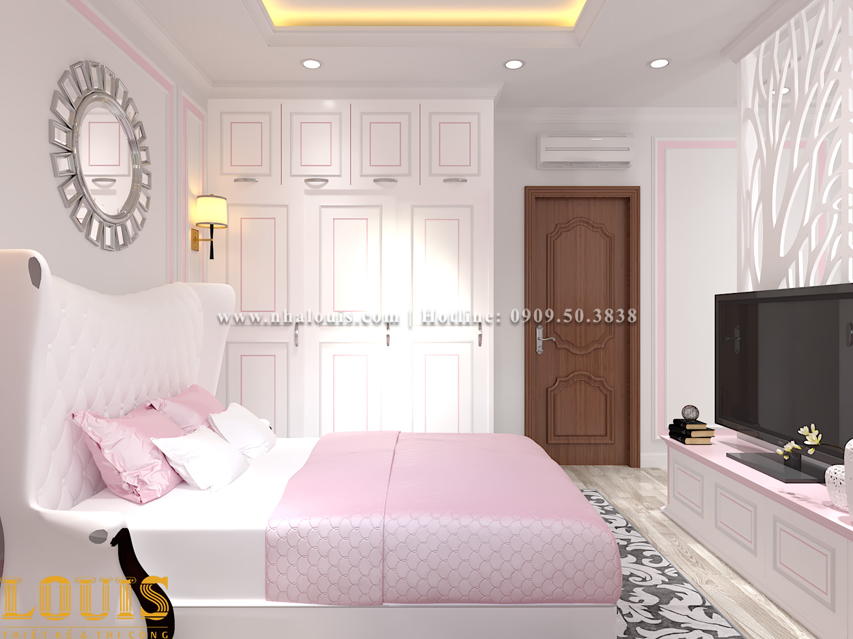 Phòng ngủ Mẫu nhà ống tân cổ điển 4 tầng tại Gò Vấp đẹp sang chảnh - 34