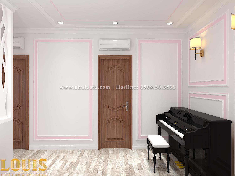 Phòng ngủ Mẫu nhà ống tân cổ điển 4 tầng tại Gò Vấp đẹp sang chảnh - 38