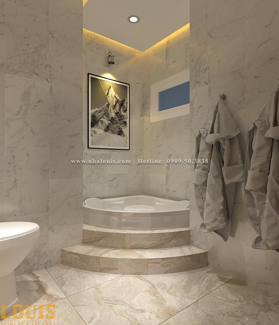 Phòng tắm và WC Mẫu nhà ống tân cổ điển 4 tầng tại Gò Vấp đẹp sang chảnh - 44