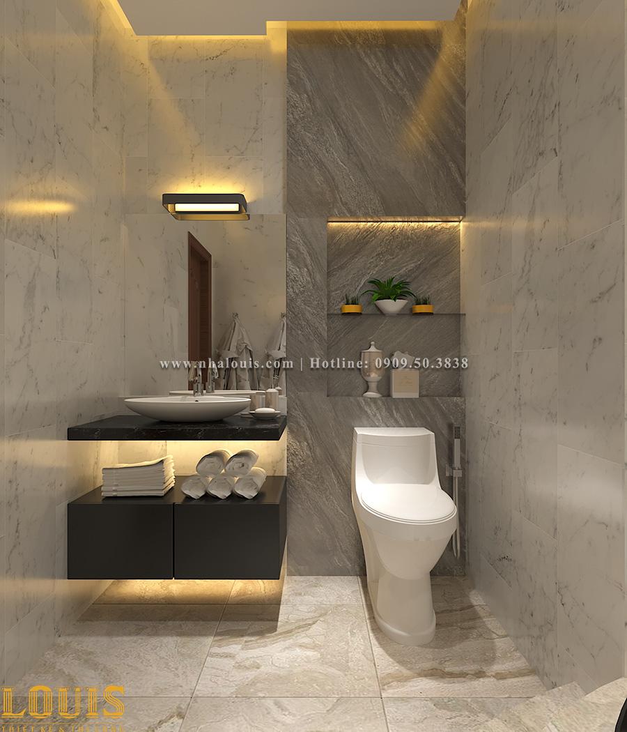Phòng tắm và WC Mẫu nhà ống tân cổ điển 4 tầng tại Gò Vấp đẹp sang chảnh - 45