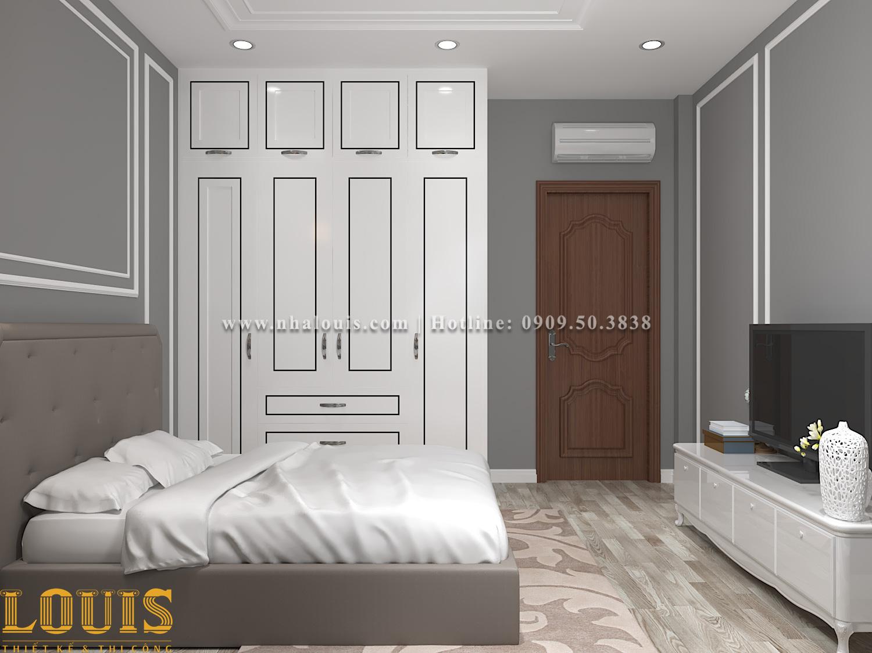 Phòng ngủ Mẫu nhà ống tân cổ điển 4 tầng tại Gò Vấp đẹp sang chảnh - 48