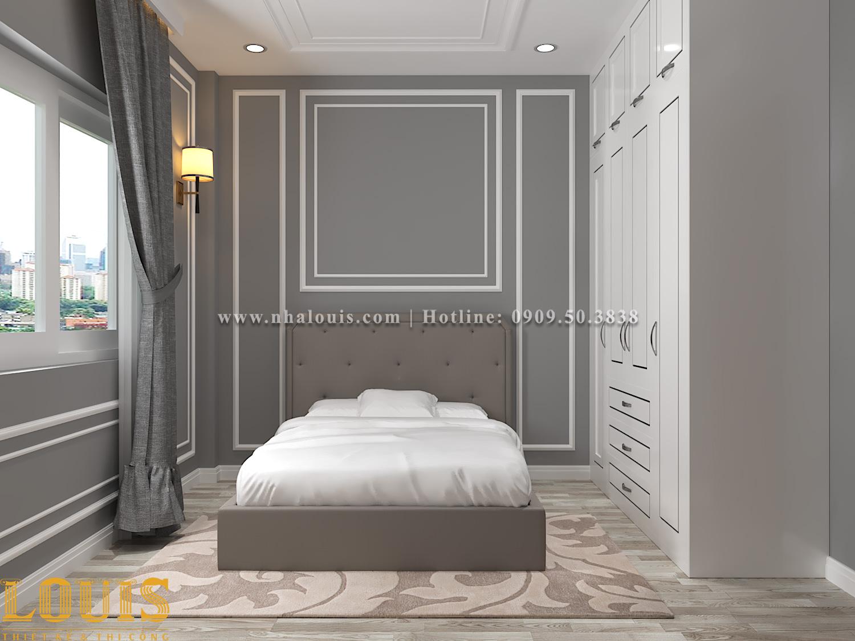 Phòng ngủ Mẫu nhà ống tân cổ điển 4 tầng tại Gò Vấp đẹp sang chảnh - 49